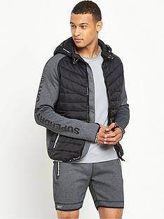 superdry-sport-gym-tech-hybrid-zip-hoody