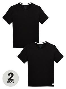 calvin-klein-2-pack-of-slim-fit-t-shirts-black
