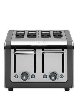 Dualit   Architect 4 Slice Toaster - Grey