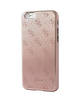 guess-guess-4g-aluminum-plate-hard-case-rose-iphone-66s