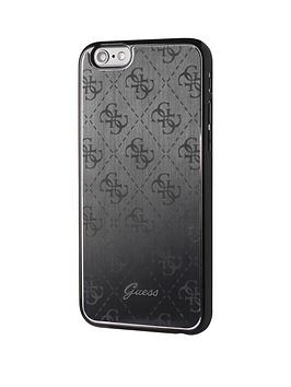 guess-guess-4g-aluminum-plate-hard-case-black-iphone-66s