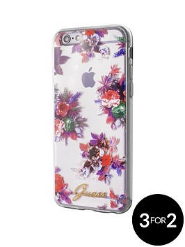 guess-guess-blossom-tpu-case-transparent-flower-iphone-66s