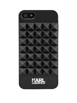 karl-lagerfeld-3d-studs-plastic-case-for-iphone-se-black