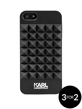 karl-lagerfeld-3d-studs-plastic-case-for-iphone-se-black