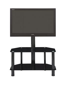 Castor Tv Stand With Bracket  Fits Up To 52 Inch Tv