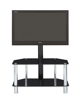 Castor Tv Stand Wit Bracket  Fits Up To 52 Inch Tv