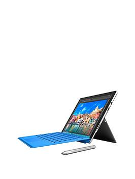 Microsoft Surface Pro 4 Intel&Reg Core&Trade I7 Processor 16Gb Ram 256Gb Solid State Drive WiFi 12.3 Inch Tablet With Blue Cover