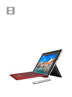 microsoft-surface-pro-4-intelreg-coretrade-i7-processor-16gb-ram-256gb-solid-state-drive-wi-fi-123-inch-tablet-with-red-cover