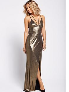 myleene-klass-strappy-maxi-dress-gold