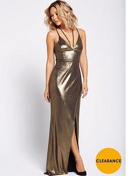 myleene-klass-strappy-maxi-dress-gold
