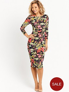 myleene-klass-floral-printed-fitted-dress