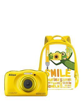 nikon-coolpix-w100-yellow-backpack-kit