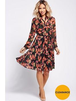 myleene-klass-garden-floral-pleated-dress