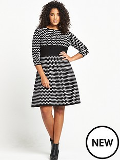 so-fabulous-zig-zag-mono-dress
