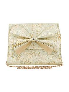 monsoon-girls-metallic-print-bow-bag
