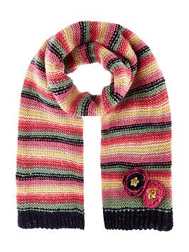 monsoon-girls-rosette-flower-stripe-scarf
