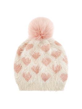 monsoon-love-heart-pearl-beanie-hat