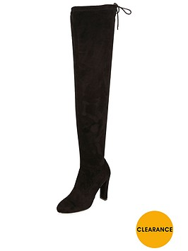 river-island-heeled-wide-fit-over-the-kneenbsptie-back-boot