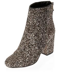 river-island-glittery-back-zip-ankle-boot