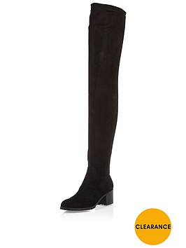 river-island-over-the-knee-boot-black