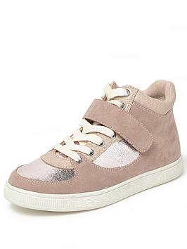 river-island-river-island-velcro-mixed-mat-girly-hi-top-trainer