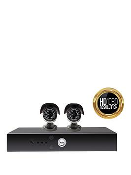 Yale Yale 1080 Hd Cctv X2 Twin Camera  Kit 30M