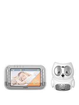 vtech-safe-amp-sound-owl-baby-monitor-bm4300-vm345