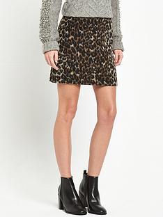 miss-selfridge-brushed-animal-skirt