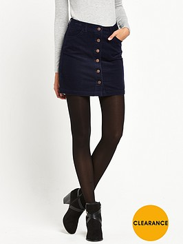 miss-selfridge-cord-mini-skirt-navy