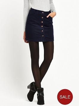 miss-selfridge-cord-mini-skirt-navy