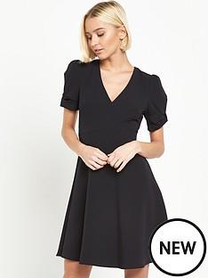 miss-selfridge-bow-sleeve-dress