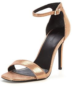 warehouse-two-part-sandal-metallic