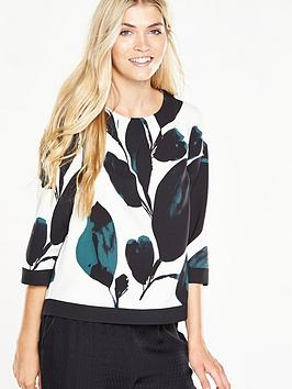 phase-eight-lisa-leaf-print-blouse