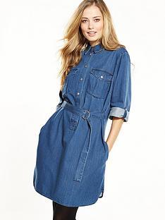 v-by-very-denim-shirt-dress