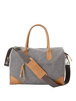 mamas-papas-duffle-changing-bag-grey-twill