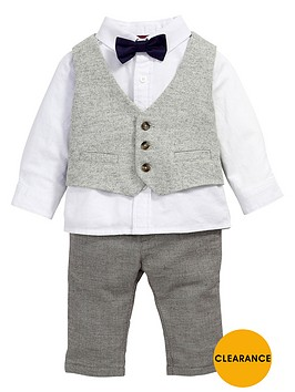 mamas-papas-baby-boys-waistcoat-shirt-trousers-and-bow-tie-set-4-piece