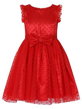 little-misdress-bow-waist-polka-dot-dress