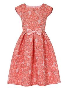 little-misdress-floral-jacquard-dress