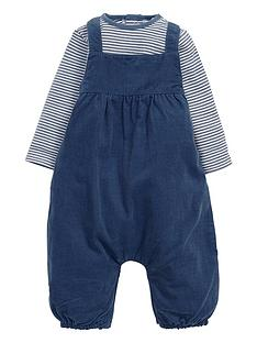 mamas-papas-baby-boys-bodysuit-and-dungarees-set-2-piece