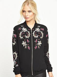 little-mistress-embellished-bomber-jacket-black