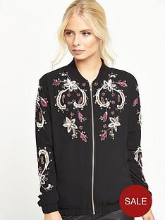 little-mistress-embellished-bomber-jacket-black