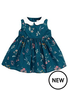 mamas-papas-baby-girls-floral-dress-with-collar