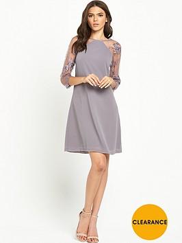 little-mistress-lace-sleeve-shift-dress-mink