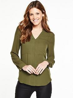 v-by-very-v-neck-pocket-blouse