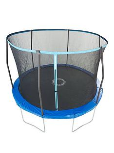 sportspower-easi-store-8ft-trampoline-with-enclosure-flipnbsppad-and-cover