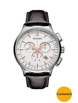 movado-movado-circa-white-dial-chronograph-tan-leather-strap-mens-watch
