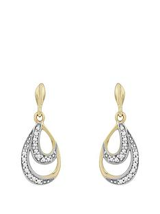 love-gold-9ct-gold-diamond-set-teardrop-earrings