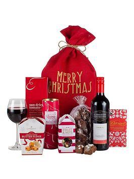 virginia-hayward-love-from-santa-gift-sack
