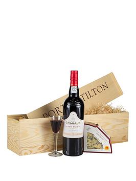virginia-hayward-port-amp-stilton-gift-set