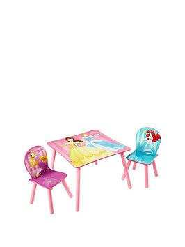 Disney Princess Disney Princess Table And 2 Stools By Hellohome